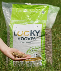 Lucky HOOVES Strohpellets